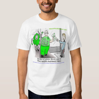 Go Lime for Mental Health Awareness Month T Shirt