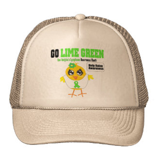 Go Lime Non Hodgkins Lymphoma Awareness Month Hats