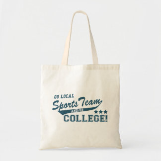 Go Local Sports Team and or College Tote Bag