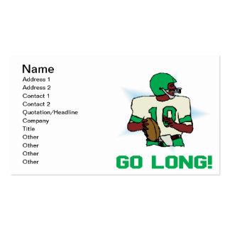 Go Long Business Card