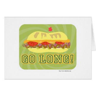 Go Long Card