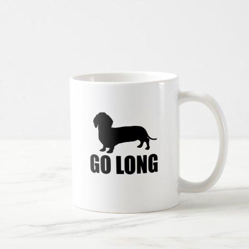 Go Long Dacshund Mugs