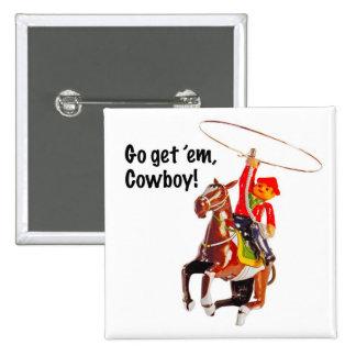¡Go los consigue vaquero Pin