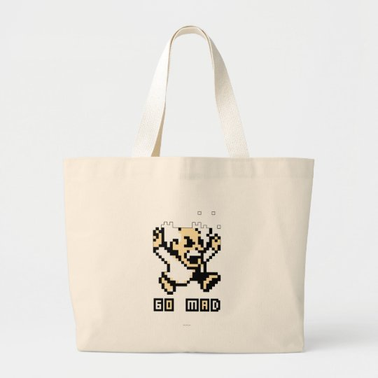 Go Mad! Large Tote Bag