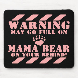 Go Mama Bear Mouse Pad