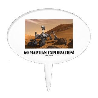 Go Martian Exploration! (Mars Rover Curiosity) Cake Pick