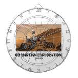 Go Martian Exploration! (Mars Rover Curiosity) Dart Board