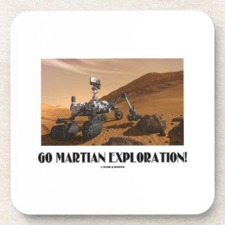Go Martian Exploration! (Mars Rover Curiosity) Drink Coaster