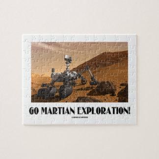 Go Martian Exploration! (Mars Rover Curiosity) Jigsaw Puzzle