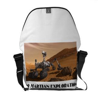 Go Martian Exploration! (Mars Rover Curiosity) Messenger Bag