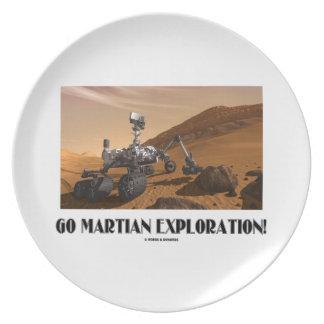 Go Martian Exploration! (Mars Rover Curiosity) Party Plates