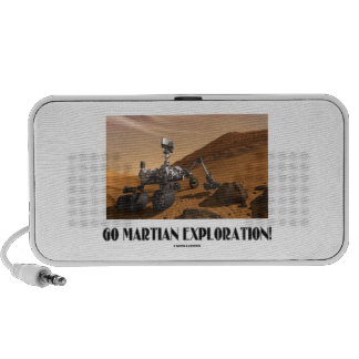 Go Martian Exploration Mars Rover Curiosity Laptop Speakers