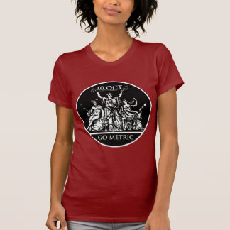Go Metric Women's Dark T-Shirt