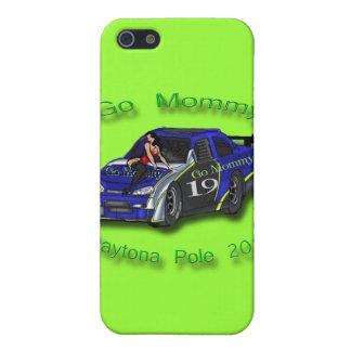 Go Mommy Daytona Pole 2012 Danica Patrick iPhone SE/5/5s Cover