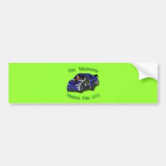 Go Mommy Daytona Pole Position 2012 Car Bumper Sticker