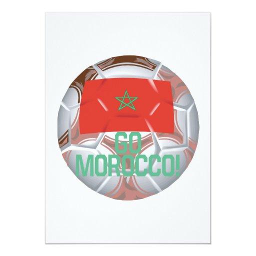 Go Morocco 5x7 Paper Invitation Card