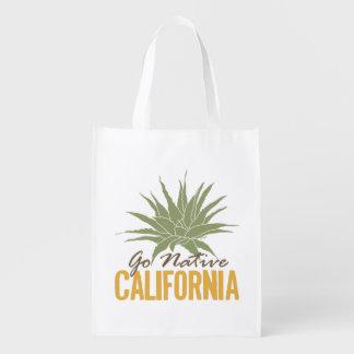 Go Native California Reusable Grocery Bag