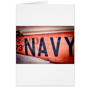 Go Navy Card