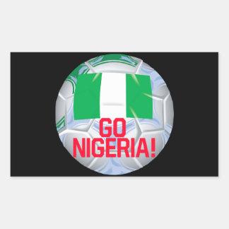 Go Nigeria Rectangular Sticker