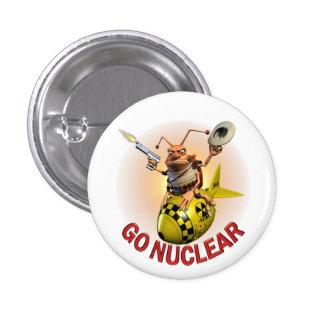 Go Nuclear Cockroach Pinback Button