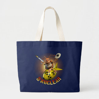Go Nuclear Cockroach Style Large Tote Bag