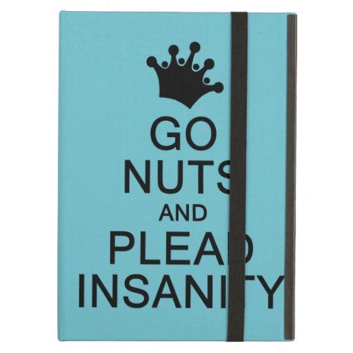 GO NUTS custom color iPad case