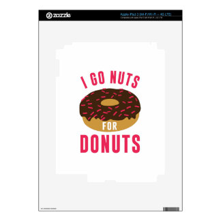 Go Nuts For Donuts Skins For iPad 3