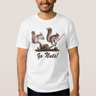 Go Nuts! St. Louis Rally Squirrel Tee Shirts