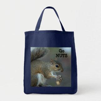 Go nuts tote bag