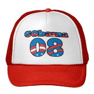 Go Obama Gobama Design Trucker Hats