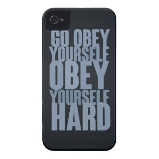 Go obey yourself, obey yourself hard iPhone 4 cover