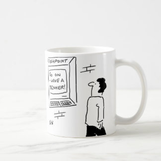 Go on - have a tenner! coffee mug