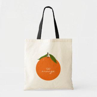 Go Orange Tote Bags
