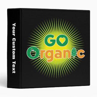 Go Organic Binders