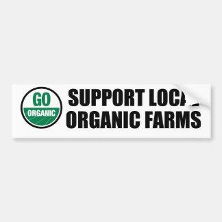 Go Organic Bumper Sticker Car Bumper Sticker