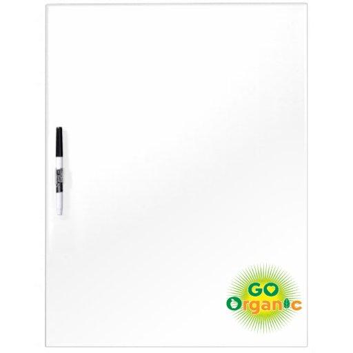 Go Organic Dry-Erase Boards