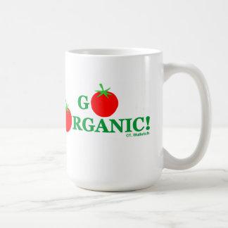 GO ORGANIC Gardener Chef or Cook Coffee Mug