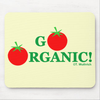 GO ORGANIC Gardening or Cooking Mouse Pad