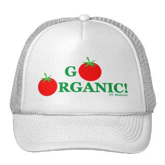 GO ORGANIC Lady Organic Gardening Cap Trucker Hat
