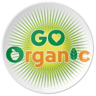 Go Organic Porcelain Plate