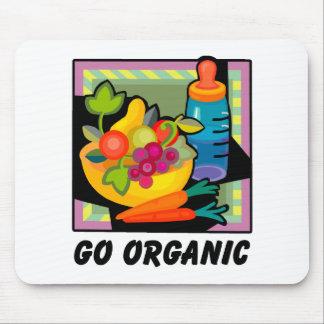 Go Organic Mouse Pad