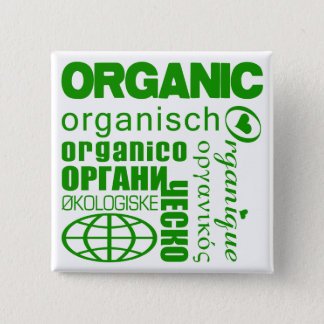 Go Organic! Multilingual Button