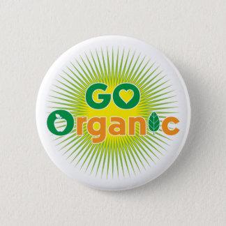 Go Organic Pinback Button