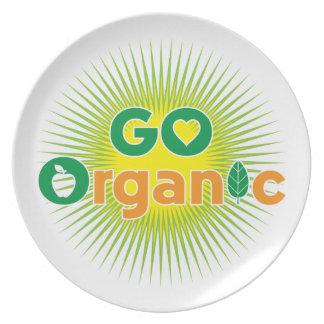 Go Organic Dinner Plates