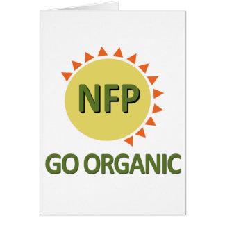 Go Organic, Practice NFP Card
