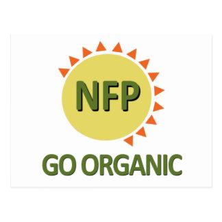 Go Organic, Practice NFP Postcard