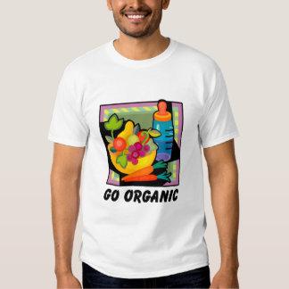 Go Organic T Shirt