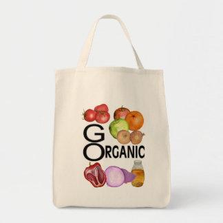 go organic tote bag