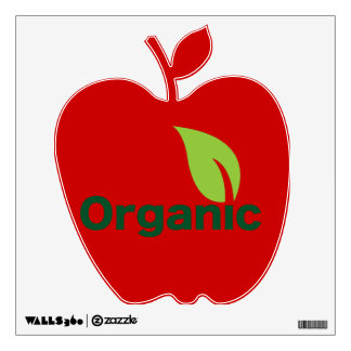 Go organic! wall sticker