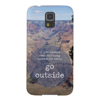 Go Outside Photo Design Galaxy S5 Case